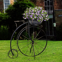 Заказать кованый декоративный велосипед для сада в Херсоне [купить стоимость цена]
