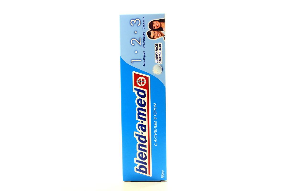 Зубна паста Бленд-а-мед 100мл Делікатне Відбілювання (5011321360761 ... f78d4f94b3a6b