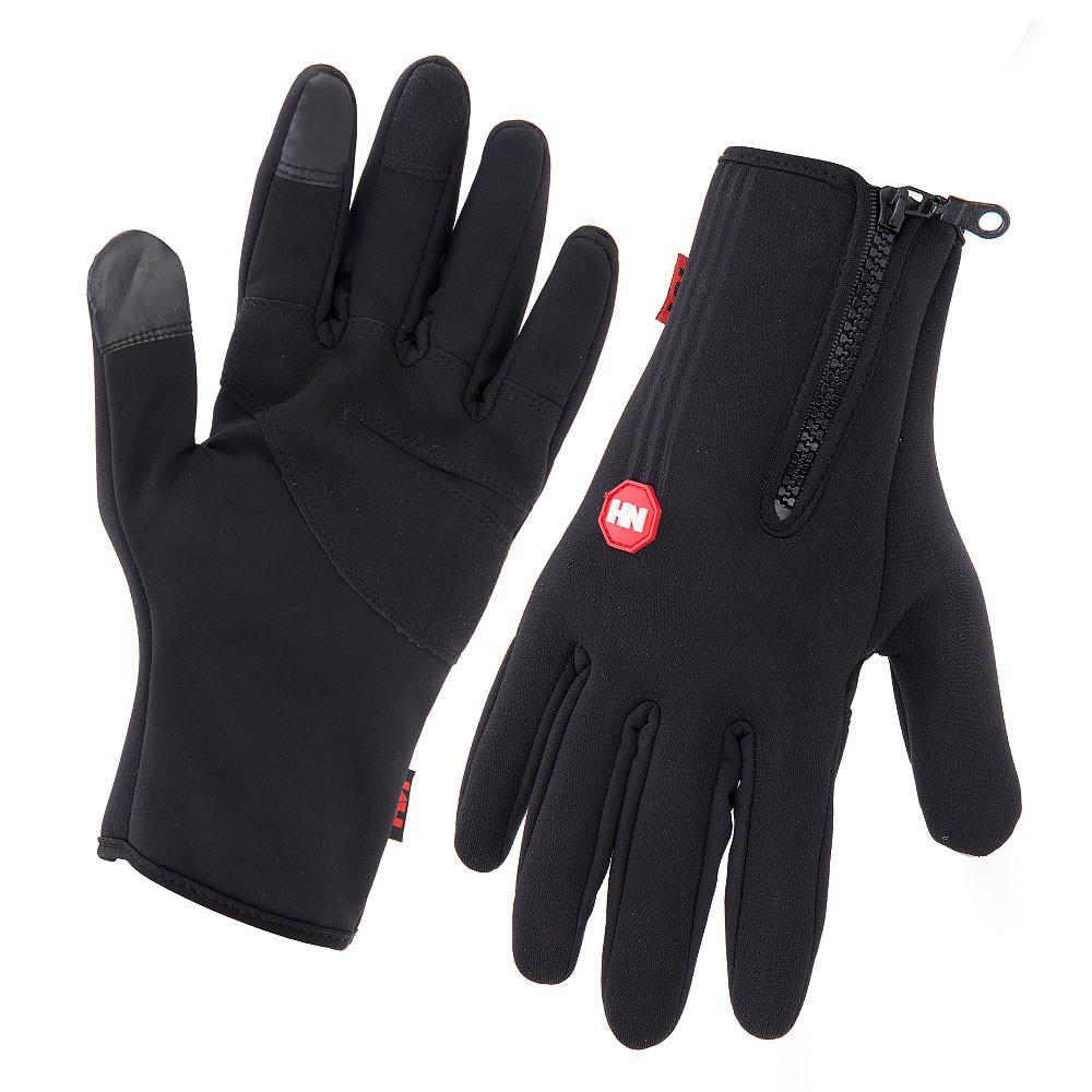 Перчатки непродуваемые NatureHike Windstopper чёрный NH23S015-T XL