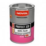 Novol  Грунт акриловый PROTECT 330 (5+1), цвет черный, 1л, без отвердителя
