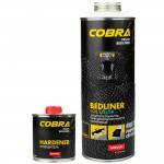 Novol  Защитное покрытие COBRA черное, 600 мл + отвердитель 200 мл