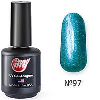 Гель-лак MyNail №97 (Блестящий зеленовато-синий)