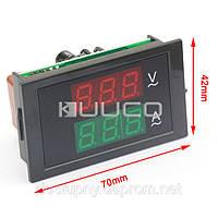 Цифровой амперметр вольтметр переменного тока на микроконтроллере электронный встраиваемый 100А