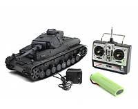 """Танк игрушечный на р/у """" DAK Pz. Kpfw.IV Ausf. F-1""""  1:16 3859-1"""