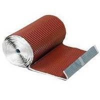 Лента для примыкания алюминиевая 300мм х 5м темно-коричневая