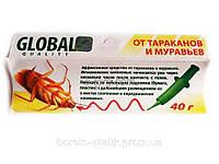 Гель шприц от тараканов и муравьев Global