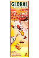 Гель от тараканов в тюбике 75 мл Glodal