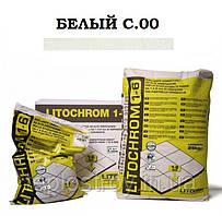 Затирка Litokol Litochrom 1-6 C.00 белый, 5 кг