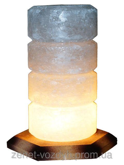 Соляной светильник Свеча 2-3 кг ( Украина )