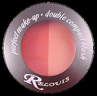 Румяна компактные двойные  Perfect make-up Relouis B076
