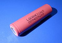 Высокотоковый аккумулятор 18650 LG ICR18650HE2 3,6V 2500mA Li-Mn 20А!