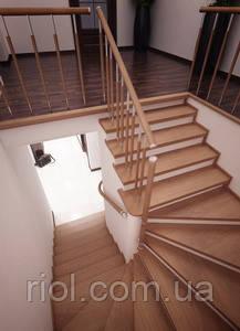лестница с угловыми ступенями