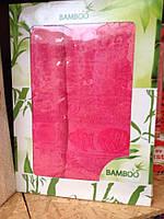Набор махровых полотенец( Венгрия) в подарочной упаковке., фото 1