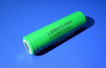 Высокотоковый акумулятор 18650 LG INR18650 MJ1 3,6 V 3500mA Li-Mn 10А!
