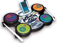 Детская магнитола с электронными барабанами, совместимая с mp3 плеером
