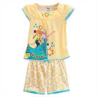 Пижама для девочки Холодное сердце Дисней 9/10 лет/ PJ Disney