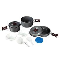 Набор посуды из анодированного алюминия на 2-3 персоны (1,0+1,75) TRC-024