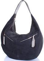 Очаровательная женская замшевая сумка GALA GURIANOFF (ГАЛА ГУРЬЯНОВ) GG1300-9 серый