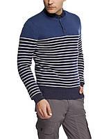 Мужской  свитер LC Waikiki в сине-белую полоску