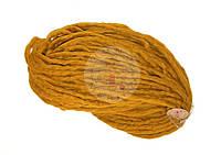 Толстая пряжа ручного прядения Янтарь