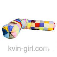 Подушка - валик,  Г образная, для беременных и кормления