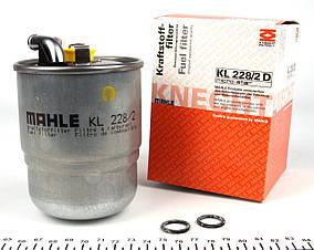 Фільтр паливний Sprinter 2.2 - 3.0 CDI, KNECHT - Німеччина, +отв. датчика води