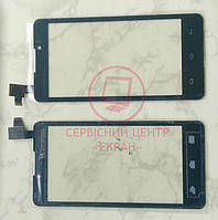 Сенсор Prestigio Multiphone 4505 / Coolpad 7290 тачскрін чорний оригінальний