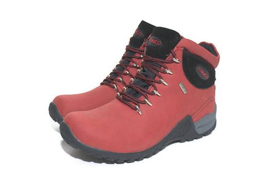 Ботинки женские Fanco Natural Red/black АКЦИЯ -10%