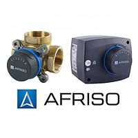 Комплект трехходовой клапан Afriso ARV 384 (DN25)+ электропривод ARM 343