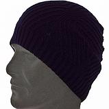 Чоловіча шапка панчоху НЕМО колір джинс, фото 3