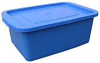 """Ящик для пищевых продуктов пластиковый 10 литров цветной """"Юнипласт"""" + Видео"""