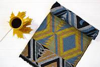 Женский весенний шарфик в теплых тонах