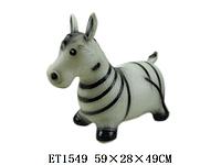 Игрушка попрыгунчик ослик резиновый S139. Детские игры. Игрушки-качалки, игрушки-прыгуны, ослик-прыгун.
