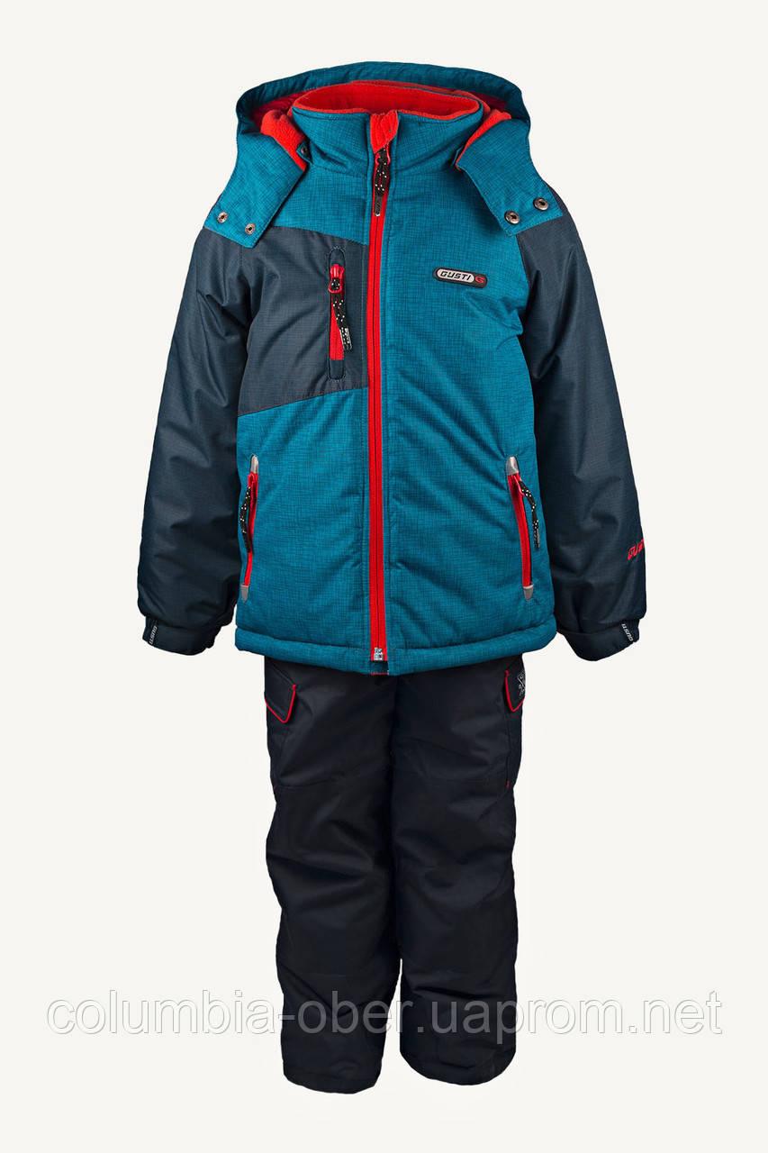 Зимний костюм для мальчика Gusti Boutique 3039 GWB. Размеры 104 - 140.