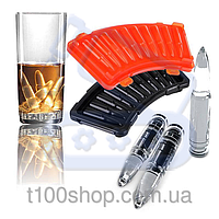 Фирменные формы для льда в виде пуль «Alcobattle» совместно с AK47
