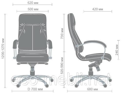 Крісло керівника Ніка