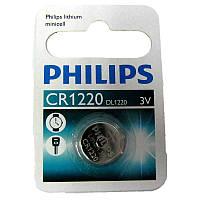 Батарейка Philips  CR1220 Литий 3V