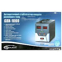 Стабилизатор Gemix GDX-1000 (700W);цифровой,m=4.8кг(170x125x235mm)