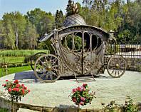 Декоративную кованую карету купить в Херсоне [стоимость цена заказать]