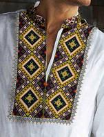 Чоловіча сорочка орнамент (схема на папері)