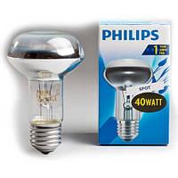 Лампочка  PHILIPS R63  40Вт Е27 матовая. рефлекторная