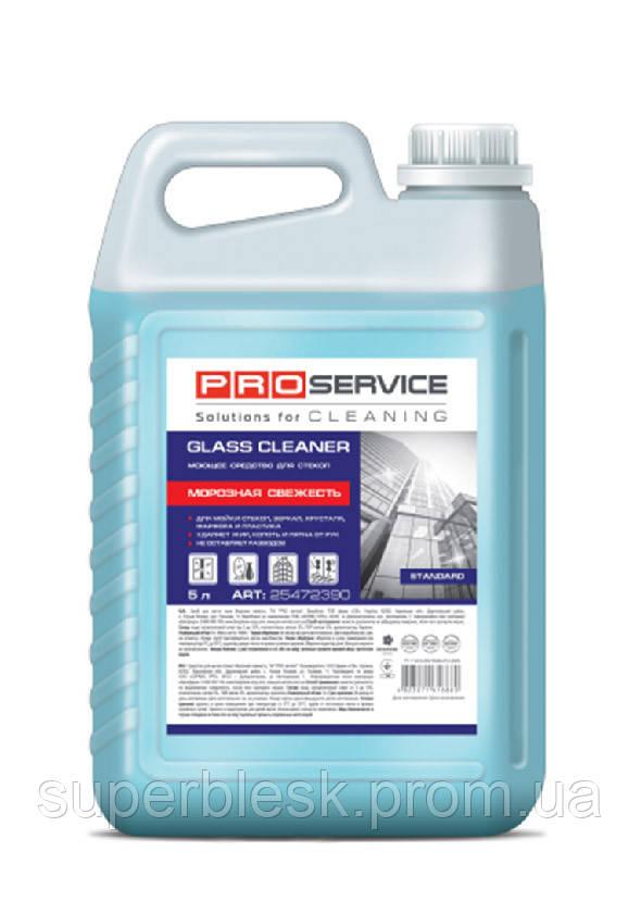 PRO service средство для мытья стекол и зеркал, морозная свежесть, 5 л