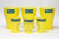 Фирменные стаканы Food contact «Alcobattle», 250 и 75 мл.