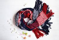 Женский шарф с бахрамой