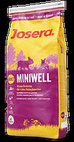 Josera (Йозера) Miniwell - сухой корм для взрослых собак мелких пород 4КГ