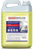 PRO service средство для мытья стекол и зеркал с нашатырным спиртом, лимон, 5 л