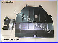 Защита двигателя метал Renault Trafic II 2.0DCi 06-  Украина ZDRT2