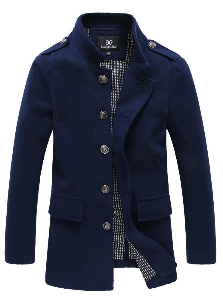 Мужское весеннее пальто. Модель 1003