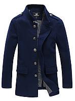 Мужское осеннее пальто. Модель 1003