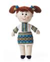 Мягкая игрушка. Девочка Украинка, ТМ Левеня, К368С